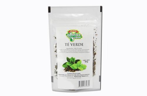 Bolsa Té Verde Antioxidante Bienestar Colesterol 50 Gramos
