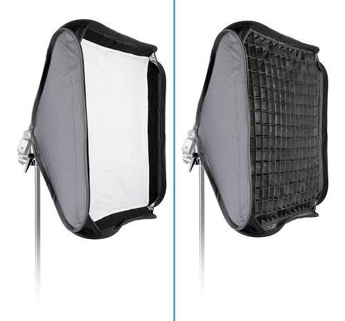 Softbox Neewer Tipo Paraguas 40x40cm + Rejilla