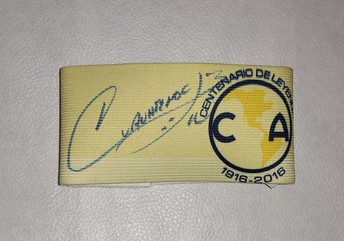 Gafete America Centenario Firmado Por Cuauhtemoc Blanco Coa