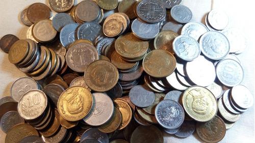 Lote De 238 Monedas Argentinas Desde 1920 Sin Repetir