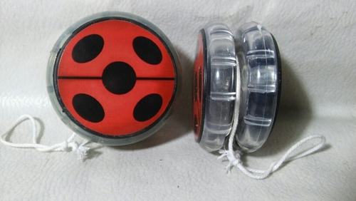 Yo-yo De Lady Bug Infantil Con Luz