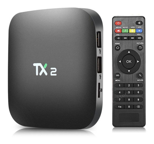 Tv Box Tanix Tx2 4gb Ram 32gb Memoria 4k Uhd C/ Nf