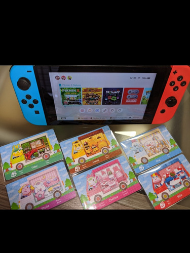 Pack Amiibo Sanrio Animal Crossing