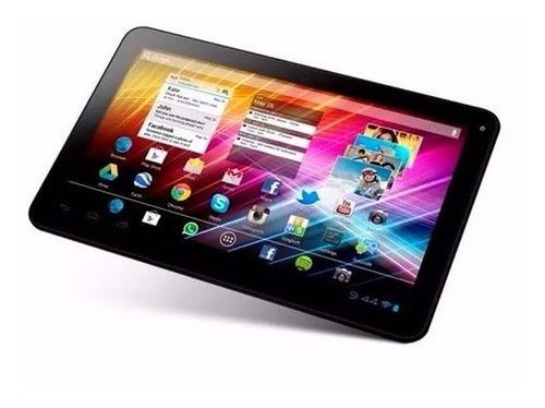 Tablet 7 Overtech Ox7 Ram 1gb 16gb Doble Cámara + Funda Roja