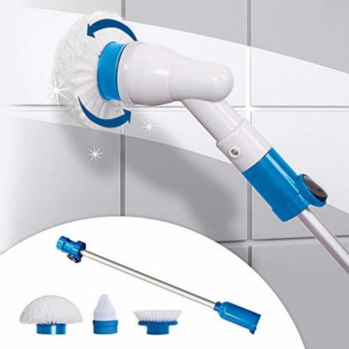 Mop Escova Elétrica De Limpeza Power Scrub Scrubber 360