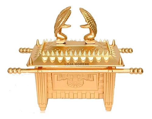 Arca Da Aliança 13cm Média Dourada