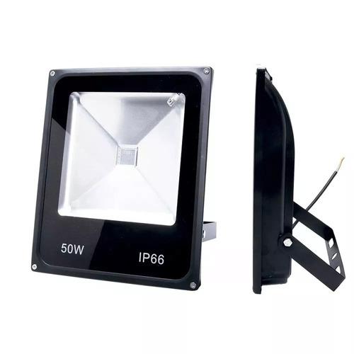 Refletor Holofote Led  50w Branco Frio Bivolt 6000k