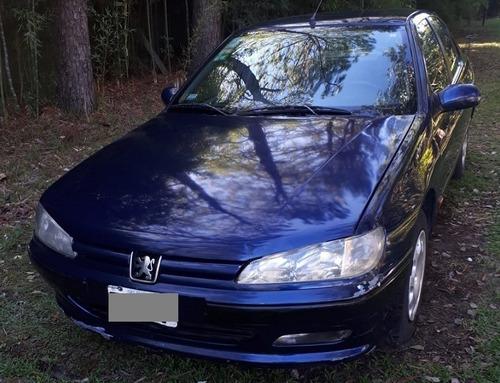 Peugeot 406 Motor 2.0 16v Sv 4 Puertas Color Azul 1998