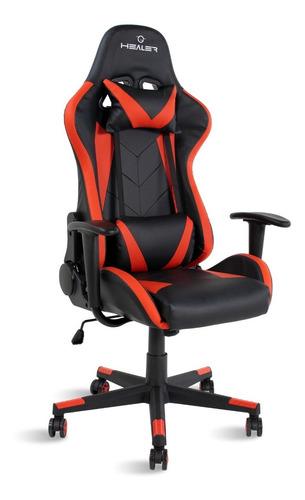 Cadeira Gamer Strike Healer Vermelho/preto