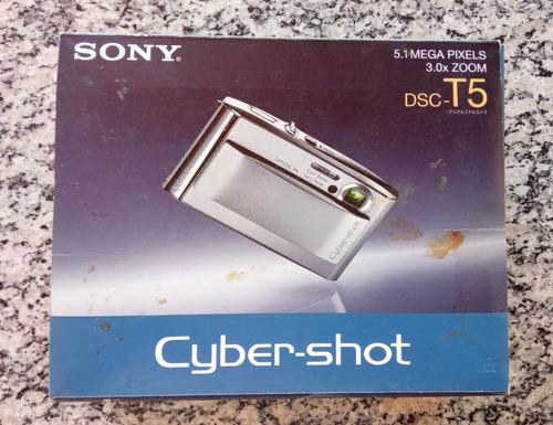 Câmera Sony Cyber-shot  Dsc-t5