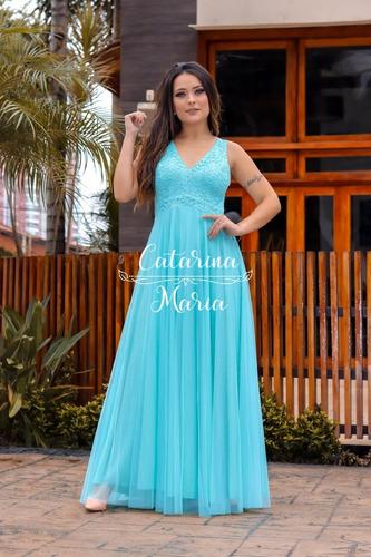 Vestido Madrinha  Marsala Tifany Renda Lilas  Luxo + Gravata
