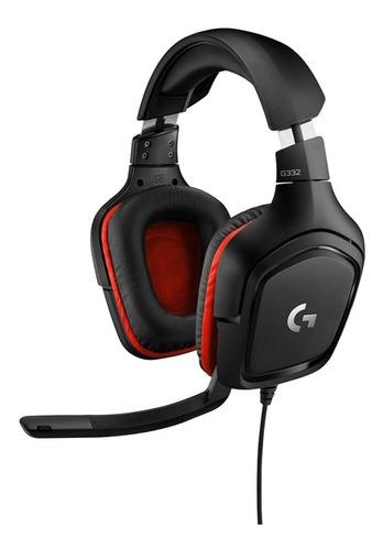 Headset Gamer Logitech G332 Stereo 981-000755