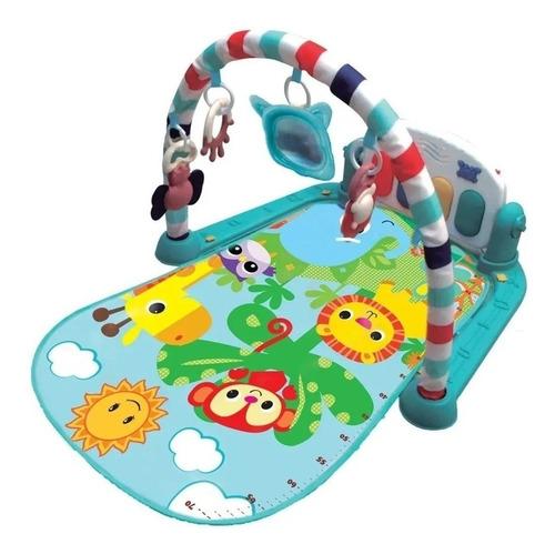 Tapete Atividade Piano Toca Musica Descanso Bebê Interativo