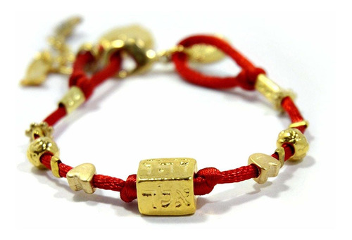 Cuatro Nombres Kabbalah Hilo Rojo Pulsera Para La Protecc