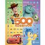 Livro 500 Adesivos Disney Pixar Toy Story Carros Monstros Sa
