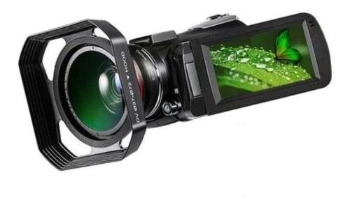 Filmadora Ordro Hdr ac3 4k V. Not 30x Zoom Com Lente E Capuz