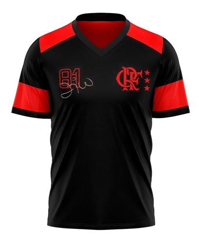 Camisa Flamengo Zico Retrô Oficial - Edição Especial