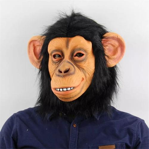 Máscara Realista Engraçada Assustadora Macaco Predador Selva