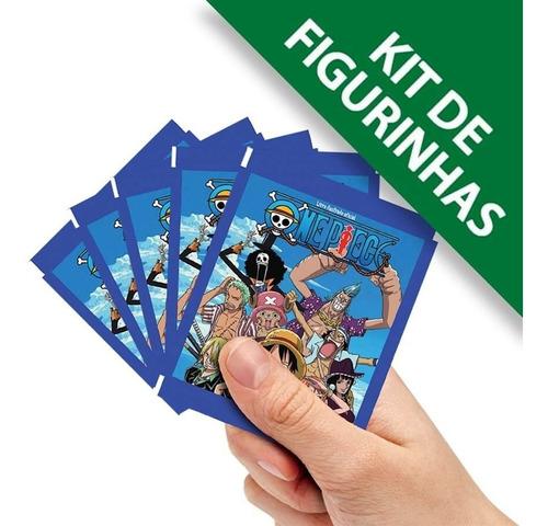 Figurinhas One Piece Contém 20 Envelope 80 Cromos + 20 Cards