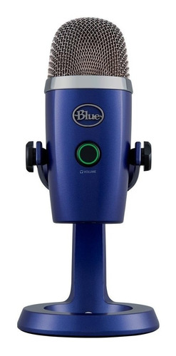 Micrófono Blue Yeti Nano Condensador Vivid Blue Bgui