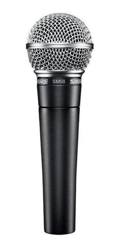 Micrófono Shure Sm Sm58 Dinámico Cardioide Y Unidireccional Negro