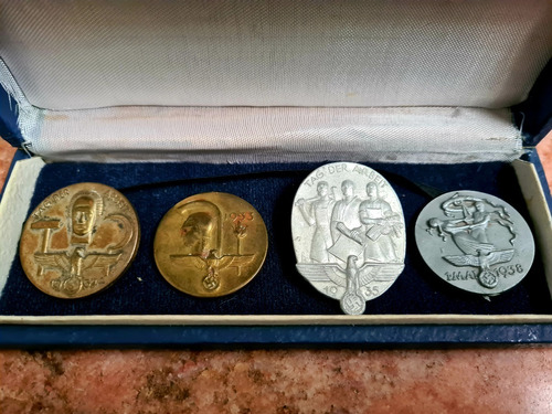 Segunda Guerra Mundial. Pines Y Medallas (iii Reich)