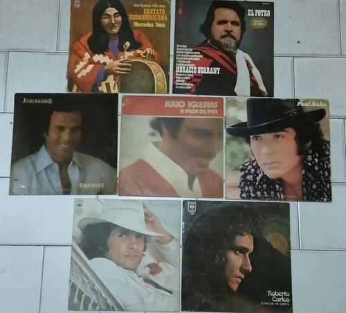 Lote De 7 Tapas Discos De Vinilo Long Play Coleccionistas