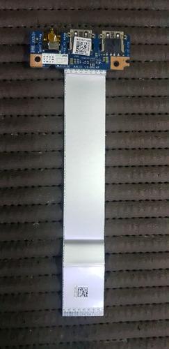 Placa Usb Secundária Com Saída P2 - Dell Inspiron 5452