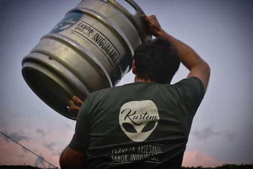 Cerveza Artesanal Kustem (venta Por Mayor En Barriles)