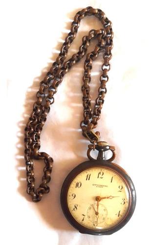 Relógio De Bolso - Gme Pimentel Porto - Vintage - Raro