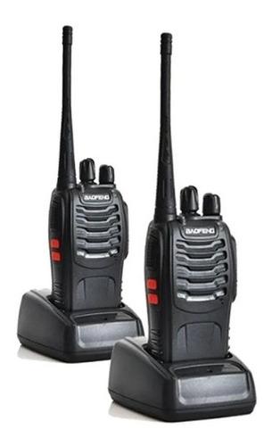 Radio Comunicador Profissional Walk Talk Canais 16 Bf-888s