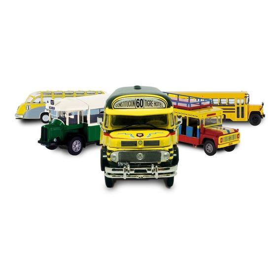 Coleccion De Autobuses Del Mundo ( La Nacion )