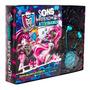 Livro Monster High Sons Horripilantes 1 Fone De Ouvido