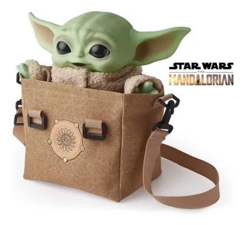 Muñeco Baby Yoda Peluche Star Wars Con Sonidos Mattel Origin