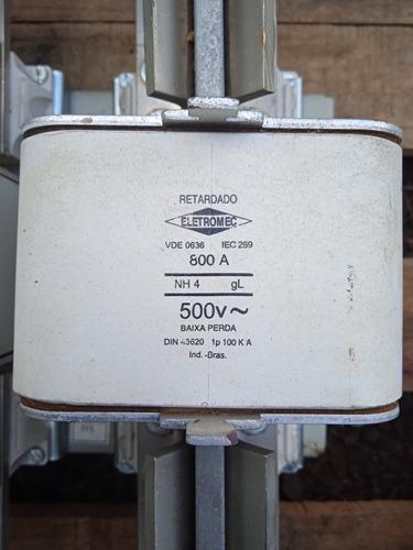 Fusivel Nh04 800a 500v Retardado - 6 Peças