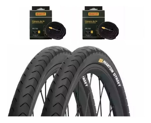 Par Pneu Bike Pirelli Phantom 700x32 Serve Aro 29 2 Camara