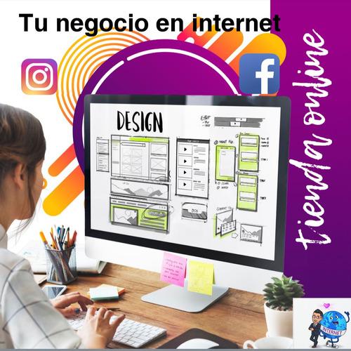 Página Web, Tienda Online Autogestionables, Redes Sociales