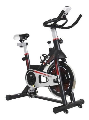 Bicicleta Ergométrica Kikos F5i Para Spinning Preta