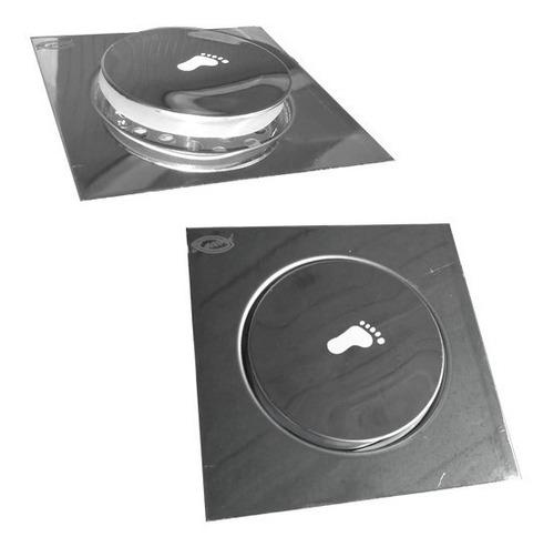 Rejilla Clic Clac Anti Olor Insect 12x12 Cm Acero Inoxidable
