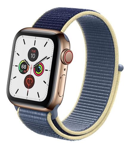 Pulseira Nylon Loop Compatível Com Apple Watch E Iwo
