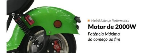 Patinete Moto Scooter Elétrico Bateria Removível 2000w Moto