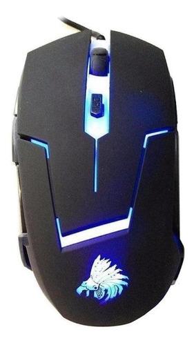 Mouse De Juego Eagle Warrior  G13 Negro