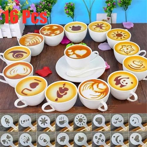Moldes Para Cafe Set X 16