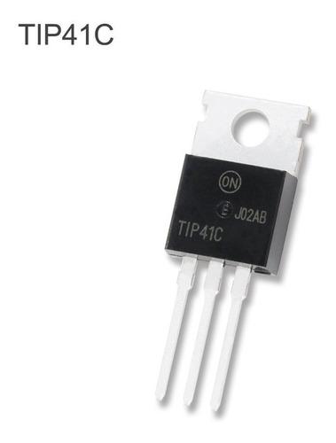 Transistor Tip41c  Npn  60v 15a - To247-3p