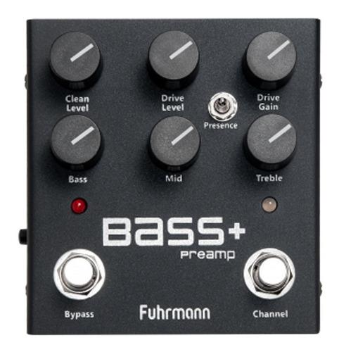 Pedal Pedal Contra Baixo Bass+ Fuhrmann Drive E Pré-amplificador Proporciona Uma Incrível Unidade De Drive Função Preamp