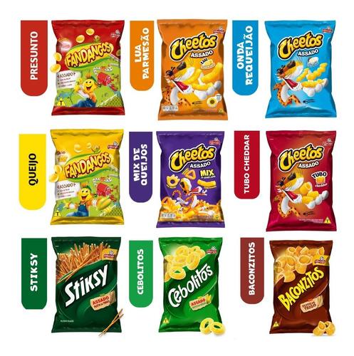 Kit 30 Elma Chips Cheetos/fandangos Pronta Entrega