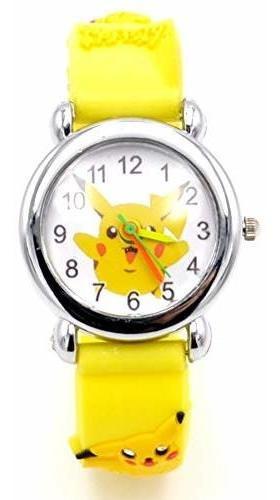 Venta Caliente Pokemon Estilo De Silicona Reloj Relojes De P