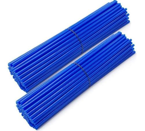 Capa De Raio Para Moto 76 Canudos Cor Azul