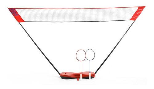Kit De Badminton Easy Set 3m Perfly - Cor Vermelho