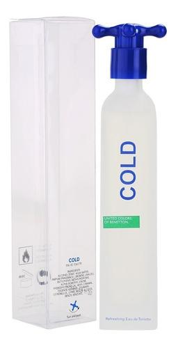 Loción Perfume Cold Benetton 100ml Ori - mL a $550